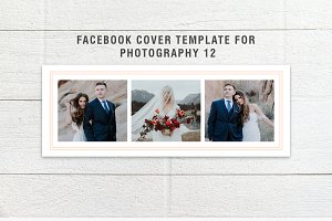 Facebook Cover Template Set 12