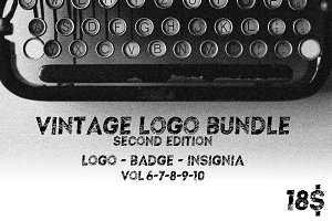Vintage Logo Bundle 2nd Edition