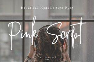 Pink Script - Signature Font