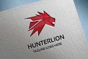 Hunter Lion Logo