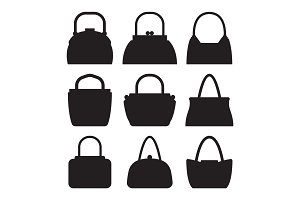 Collection of Women Bags Accessories