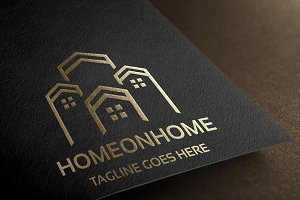 Home on Home Logo