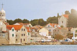 Village Sepurine, Prvic island, view