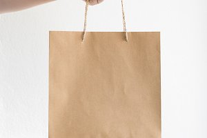 Minimalist Bag Mockup Photo