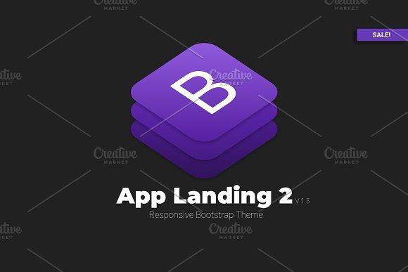 APP Landing 2 - Bootstrap Theme