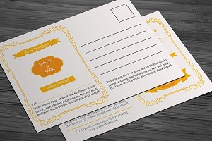 Wedding Post Card Templates
