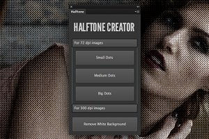 Halftone Creator Photoshop Plugin