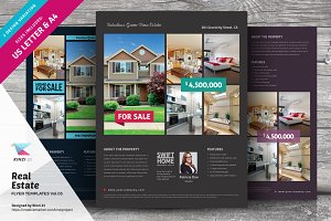 Real Estate Flyer Templates vol.03