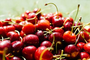 Cherry berries fruit