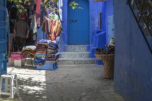 Chaouen the blue city. Morocco