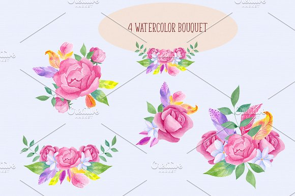 Brave heart. Boho collection. in Illustrations - product preview 4