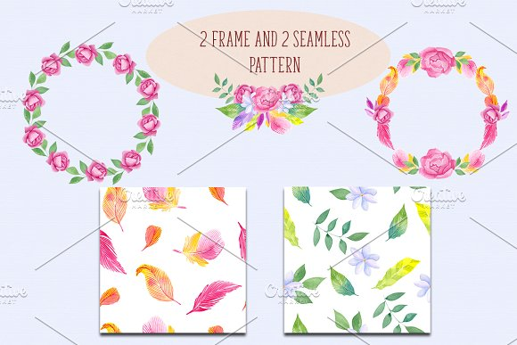 Brave heart. Boho collection. in Illustrations - product preview 5