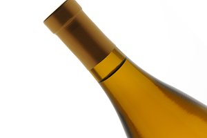 Chardonnay Wine Bottle
