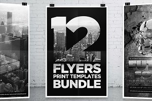 12 Party Flyers Bundle