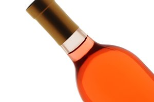 Blush Wine Bottle