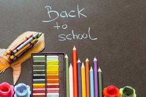 Back to school, school supplies