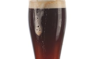 Glass of Dark Ale