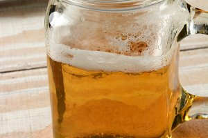 Beer in Handle Jar