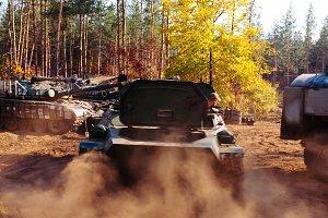 Ukraine Donbass military conflict ar