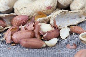 peeled shells and peels