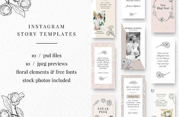 The Ultimate Instagram Bundle in Instagram Templates - product preview 2