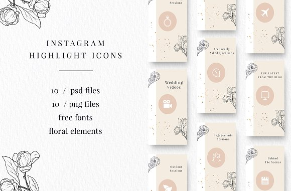 The Ultimate Instagram Bundle in Instagram Templates - product preview 4