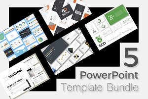 Creative PowerPoint Template Bundle
