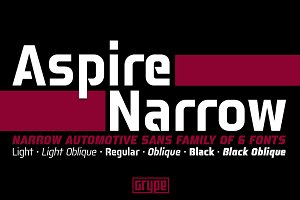 Aspire Narrow Family