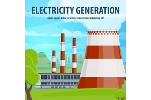 Electricity generation poster