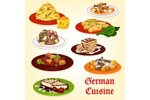 German cuisine dishes