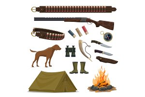 Hunting weapon and equipment