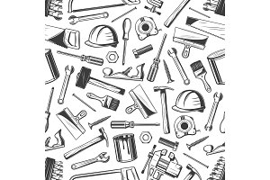 Work tool seamless pattern