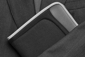 Suit Tie and Folder
