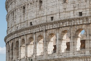 Coliseum in Rome, Italy.