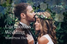 CuckooKiss Wedding WordPress Theme by  in Wedding