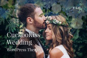 CuckooKiss Wedding WordPress Theme