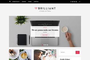 Brilliant Plus WordPress Theme