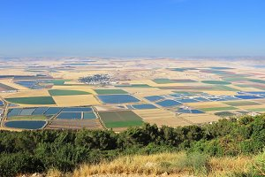 The valley of Galilee. Photo from Mo