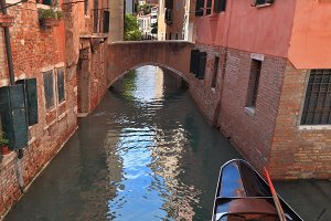The narrow street - channel brightly