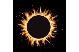 Total eclipse of the sun, eclipse