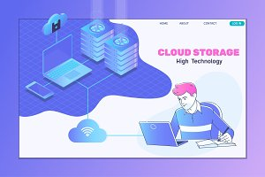 Isometric cloud computing services