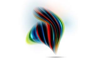 Fluid liquid mixing colors concept