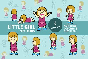 Little Girl Vectors