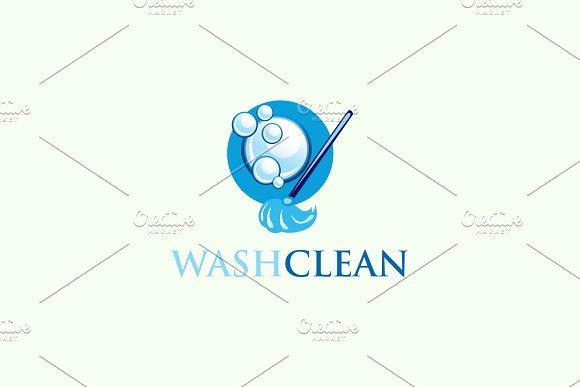 Wash Clean Logo