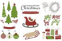 Hand Drawn Christmas | Clipart
