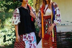 two Beautiful Ukrainian girl in nati