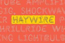 Haywire [SALE]