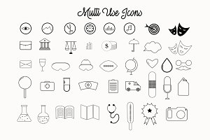 Multi Use Png Icons