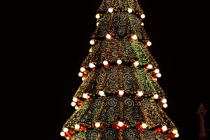 Christmas tree is the main square of