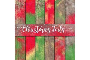Christmas Foils Digital Paper